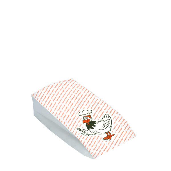 Vrecká na 1/2 grilované kura (2-vrstvé) [100 ks]