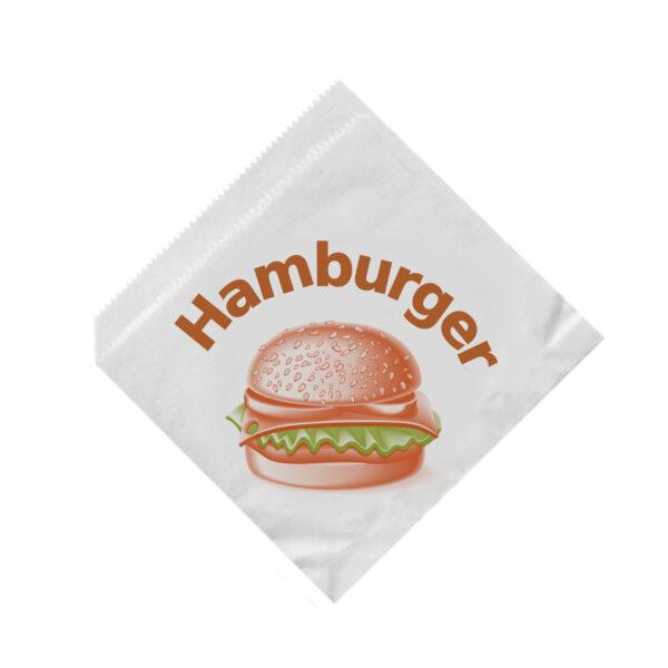 Vrecká na hamburger 16 x 16 cm [500 ks]