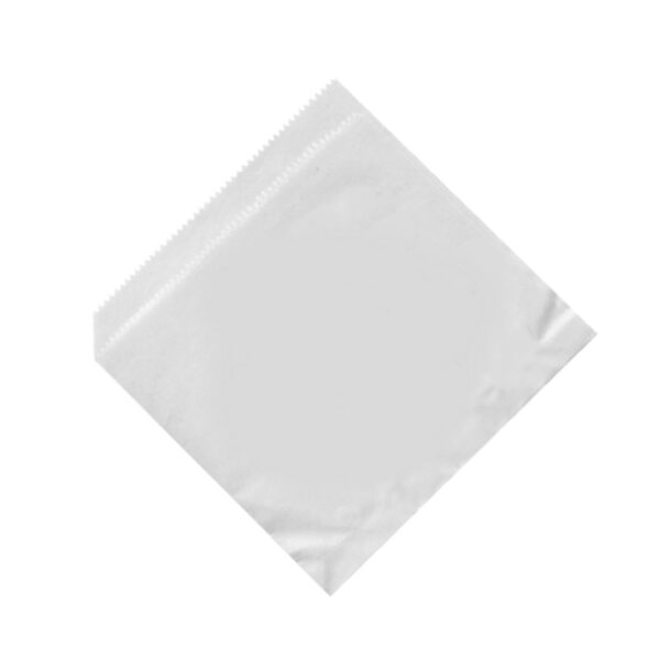 Papierové vrecká (HAMBURGER/KEBAP) biele 16x16cm [500 ks]