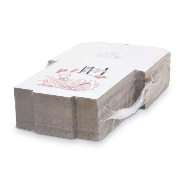 Krabica na pizzu z vlnitej lepenky 34 x 34 x 3 cm [100 ks]