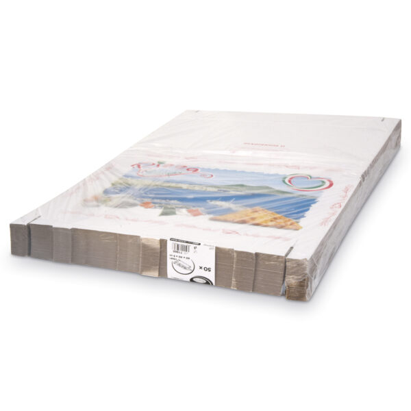 Krabica na pizzu z vlnitej lepenky 60 x 40 x 5 cm [50 ks]