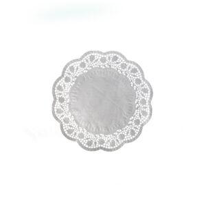 Dekoračné krajky okrúhle ø 14 cm [100 ks]