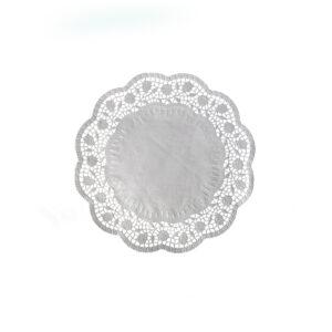 Dekoračné krajky okrúhle ø 18 cm [100 ks]