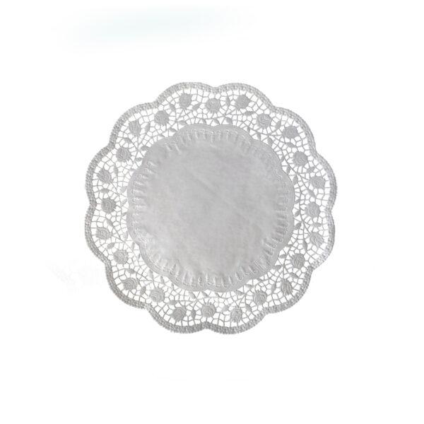 Dekoračné krajky okrúhle ø 22 cm [100 ks]