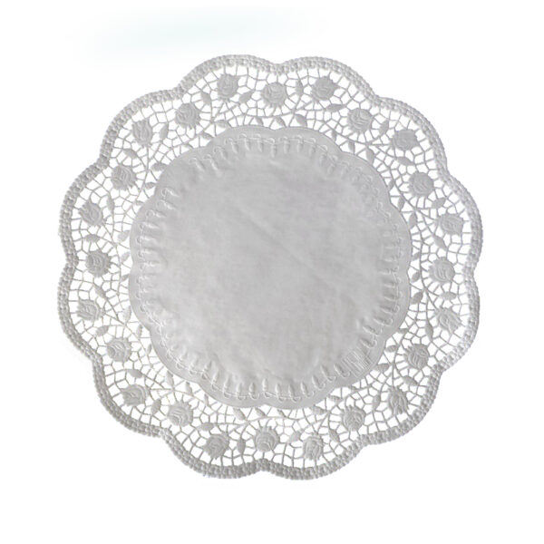 Dekoračné krajky okrúhle ø 36 cm [100 ks]