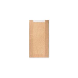 Pap. vrecká s okienkom - pečivo malé (15+6x29cm, ok.10cm) [1000 ks]