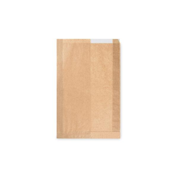 Pap. vrecká s okienkom - chlieb (22+5 x 34 cm, ok.14 cm) [1000 ks]
