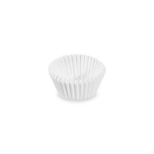 Cukrárenské košíčky biele ø 24 x 18 mm [1000 ks]