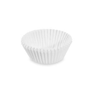 Cukrárenské košíčky biele ø 35 x 20 mm [1000 ks]