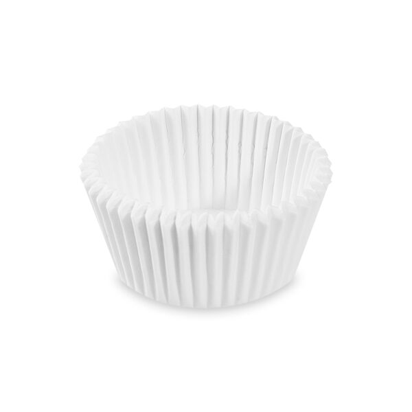 Cukrárenské košíčky biele ø 45 x 25 mm [1000 ks]