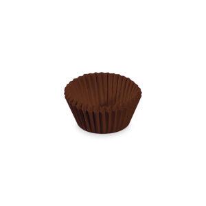 Cukrárenské košíčky hnedé ø 24 x 18 mm [1000 ks]
