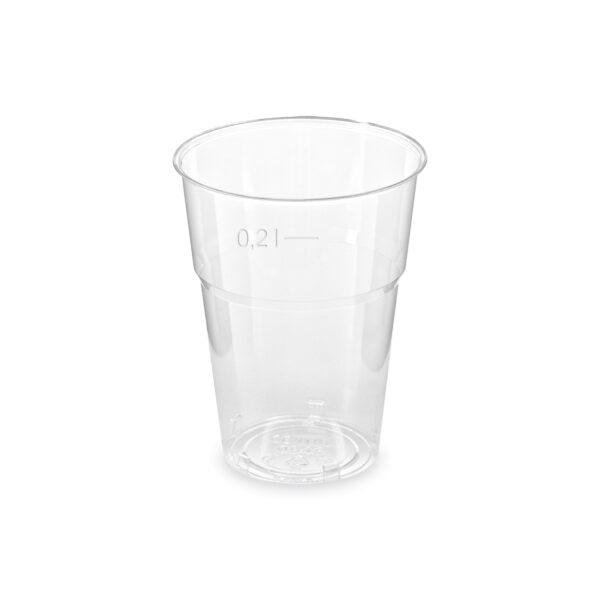 Pohár kryštál 0,2 l (ø 73 mm) [50 ks]