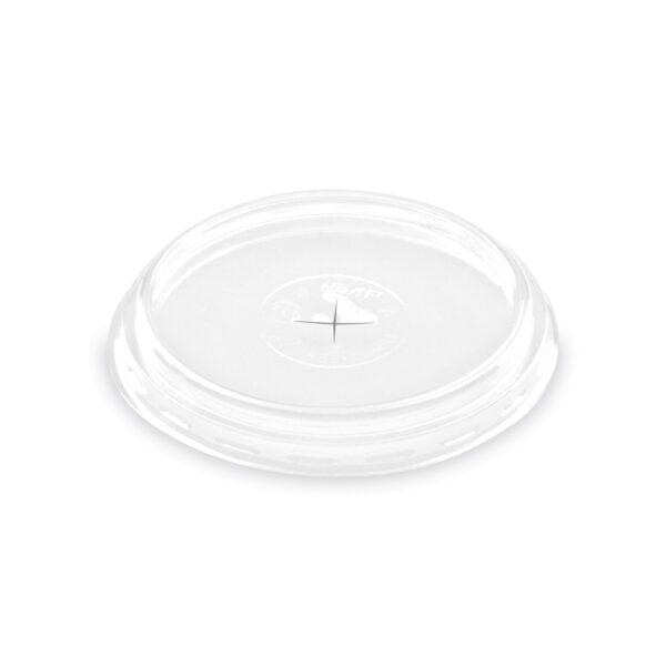 Viečko s krížovým otvorom pre poháriky ø 84 mm [100 ks]