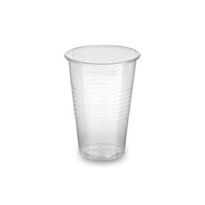 Pohár priehľadný 0,2 l -PP- (ø 70 mm) [100 ks]