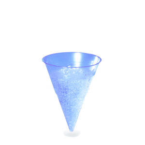 Pohár BLUE CONE 115 ml -PP- (ø 70 mm) [1000 ks]