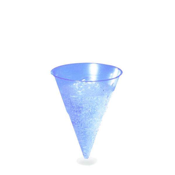 Pohár BLUE CONE 115 ml -PP- (ø 70 mm) [1000 ks]