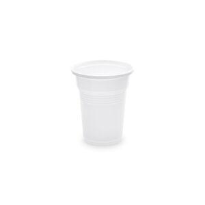 Pohár biely 0,1 l -PP- (ø 57 mm) [100 ks]
