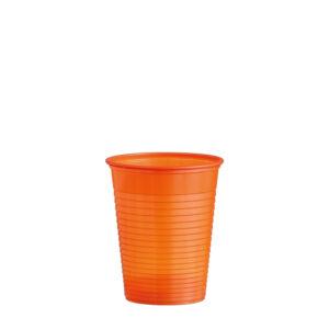 Pohár oranžový 0,18 l -PS- (ø 70 mm) [50 ks]