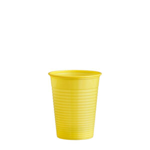 Pohár žltý 0,18 l -PS- (ø 70 mm) [50 ks]