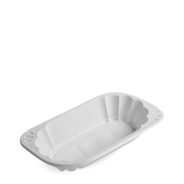 Miska oválna biela (PS) 250 ml [100 ks]