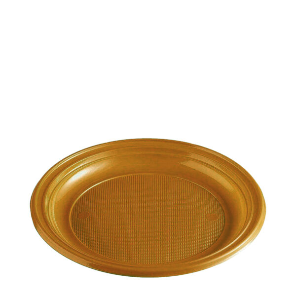 Tanier zlatý (PS) ø 22 cm [30 ks]