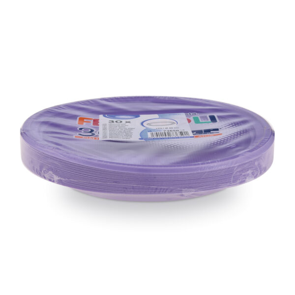 Tanier svetlofialový (PS) ø 22 cm [30 ks]