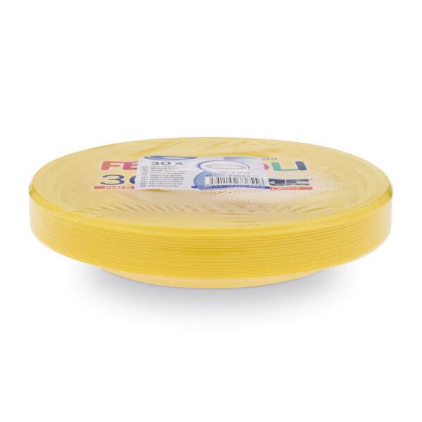 Tanier žltý (PS) ø 22 cm [30 ks]