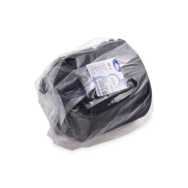 Šalátová miska čierna 1000 ml (PET) [50 ks]