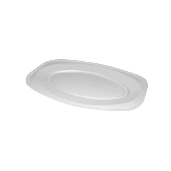 Podnos oválny biely 45 x 30,5 cm (EPS) [10 ks]