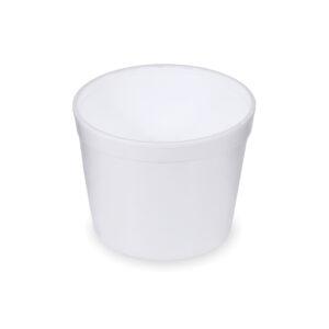 Termo-miska okrúhla biela 550 ml [25 ks]