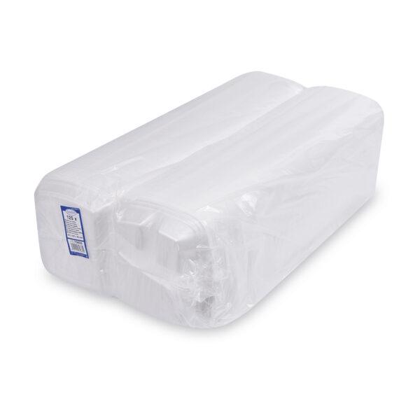 Menu box 3-dielny biely 241 x 207 x 69 mm [125 ks]