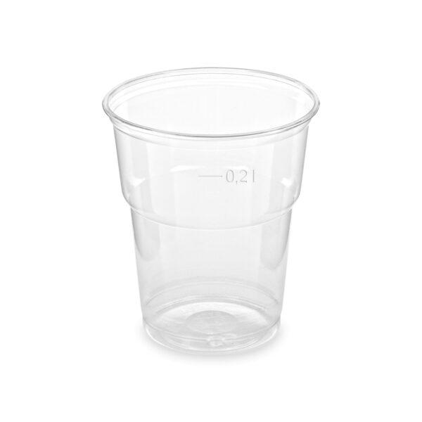 Pohár z PET 0,2 l (ø 78 mm) [50 ks]