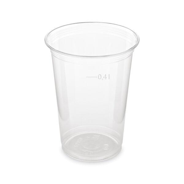 Pohár z PET 0,4 l (ø 95 mm) [50 ks]