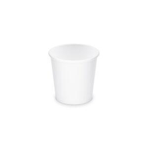 Papierový pohár biely 110 ml, XS (ø 62 mm) [50 ks]