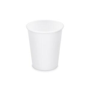 Papierový pohár biely 280 ml, M (ø 80 mm) [50 ks]