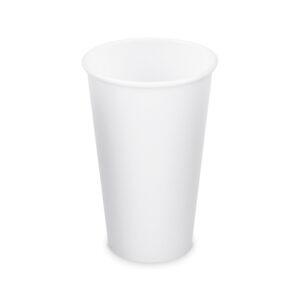 Papierový pohár biely 510 ml, XL (ø 90 mm) [50 ks]