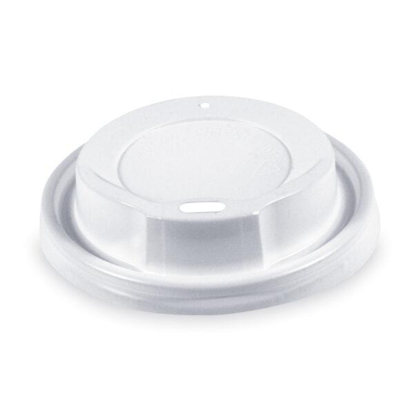Viečko vypuklé biele pre kelímky ø 80 mm [100 ks]