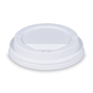 Viečko vypuklé biele pre kelímky ø 90 mm [100 ks]