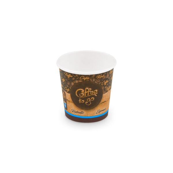 """Papierový pohár """"Coffee to go"""" 110 ml, XS (ø 62 mm) [50 ks]"""