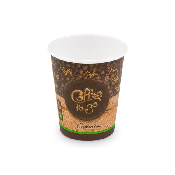 """Papierový pohár """"Coffee to go"""" 280 ml, M (ø 80 mm) [50 ks]"""
