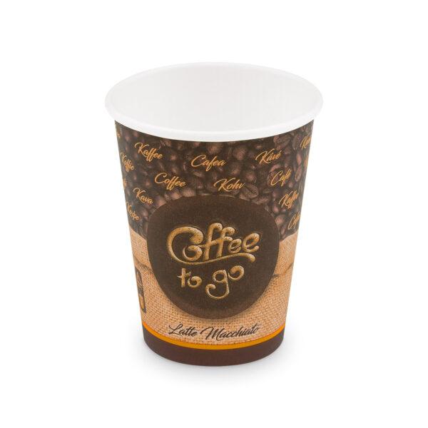 """Papierový pohár """"Coffee to go"""" 420 ml, L (ø 90 mm) [50 ks]"""
