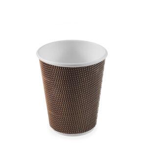 Papierový pohár PREMIUM 420 ml, L (ø 90 mm) [25 ks]