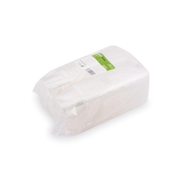 Miska hranatá priehľadná 300 ml (PP) [100 ks]