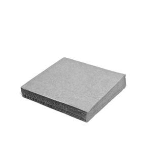 Obrúsky 2-vrstvé, 33 x 33 cm šedé [250 ks]