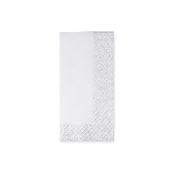 Obrúsky 2-vrstvé, 33 x 33 cm biele 1/8 skladanie [250 ks]