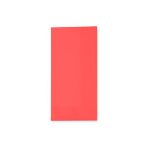 Obrúsky 3-vrstvé, 33 x 33 cm červené 1/8 skladanie [250 ks]