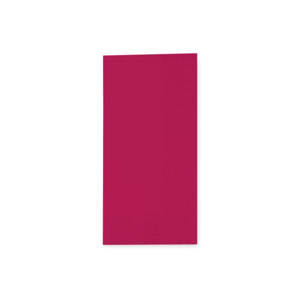 Obrúsky 3-vrstvé, 33 x 33 cm bordové 1/8 skladanie [250 ks]