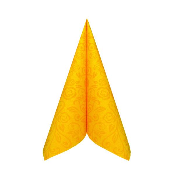 "Obrúsky PREMIUM 40x40cm ""dekor R"" žlté [50 ks]"