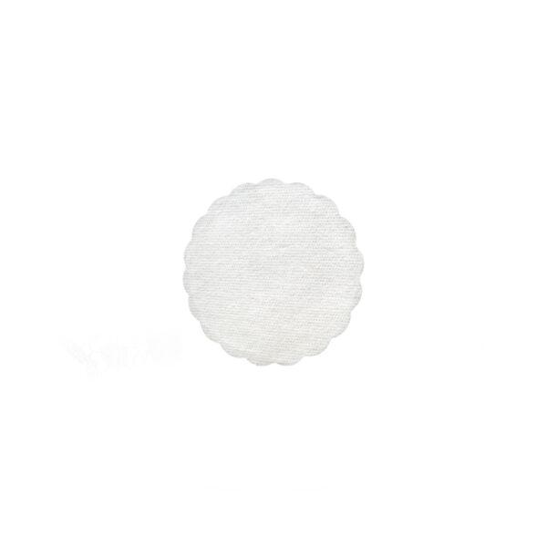 Rozetky PREMIUM ø 9 cm biele [40 ks]