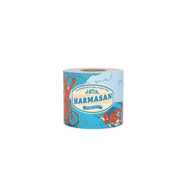 """Toaletný papier natural """"Harmasan"""" 400 útržkov, 50 m [1 ks]"""